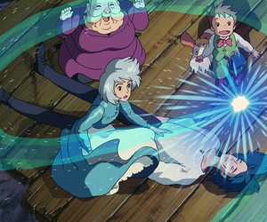 studio ghibli, sophie, and howl's moving castle image
