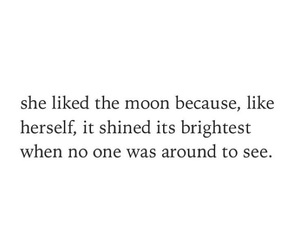 confidence, moon, and poem image