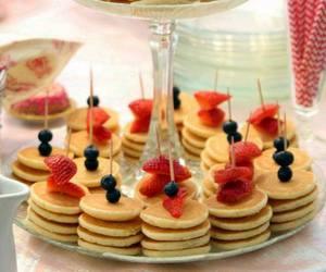 food, pancakes, and mini food image