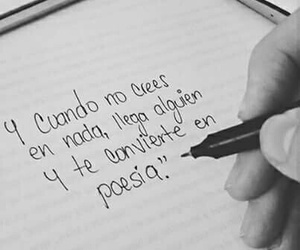 love, frases, and poetry image