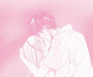 couples, kawaii, and kiss image