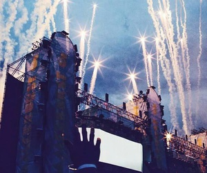 festival, party, and tomorrowland image