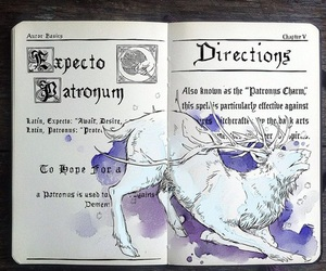 expecto patronum and harry potter image