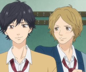 anime and ao haru ride kou image