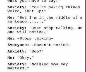 anxiety, sadness, and feelings image