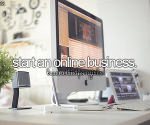 before i die, business, and online image