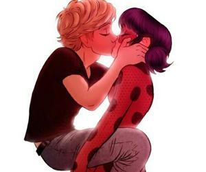 ladybug, Adrien, and miraculous ladybug image