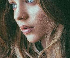 model, eyes, and girl image