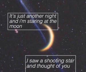 stars, moon, and ed sheeran image
