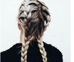 beautiful, braid, and diy image