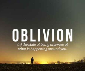 Oblivion, words, and quotes image