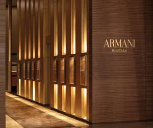 Armani, luxury, and Dubai image