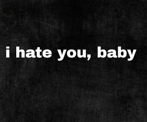 baby, black, and sad image