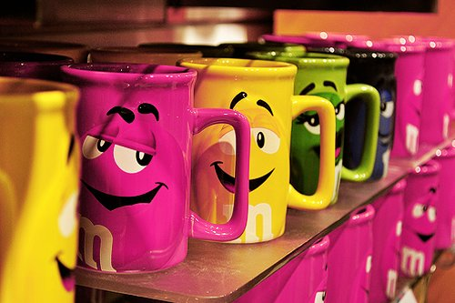 cups, cute, m&m, wallpaper - inspiring