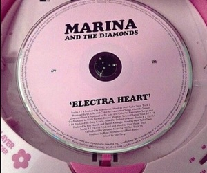 pink, aesthetic, and marina and the diamonds image