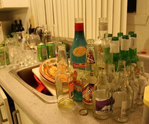 alcool, beer, and mojito image