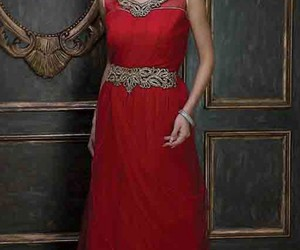 gown, designergown, and embroiderygown image