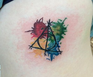 harry potter and tattoo image