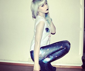 black milk clothing and galaxy blue image
