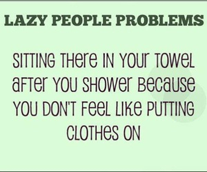 Lazy, funny, and shower image