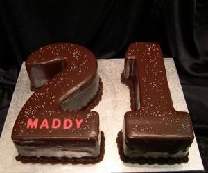 21, cake, and chocolate image