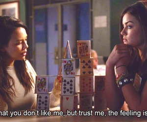 quotes, pretty little liars, and series image