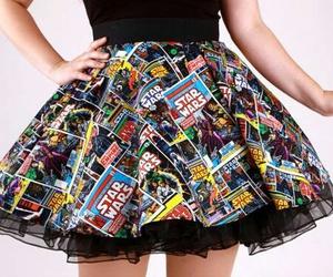 girl, skirt, and star wars image