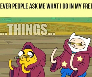 adventure time, things, and funny image