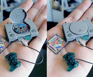 game, playstation, and mini image