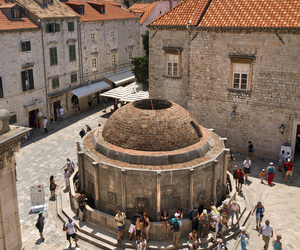 Croatia, dubrovnik, and fountain image