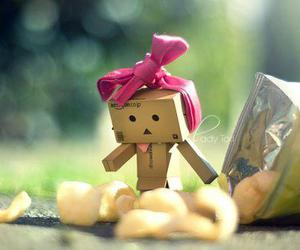 danbo, cute, and chips image