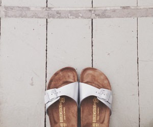 birkenstock, fashion, and shoes image