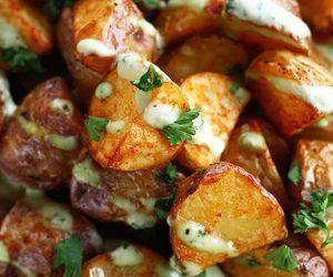 potato, food, and garlic image