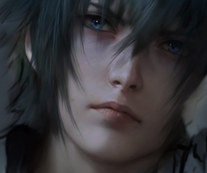 final fantasy xv and noctis image