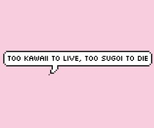 kawaii, pink, and sugoi image