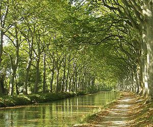 south of france, canal du midi, and french place image