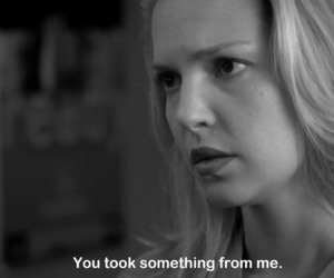 black and white, izzie stevens, and quote image