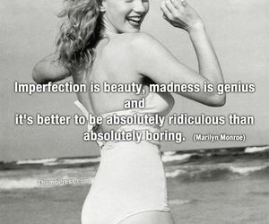 quote, beauty, and marilyn image