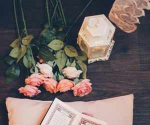 photography, quraan, and كلمات image