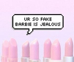 barbie, pink, and fake image