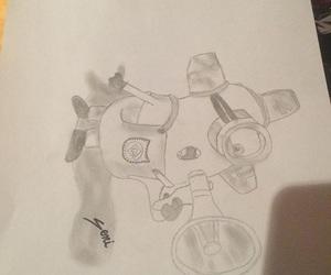 art, drawing, and kid image