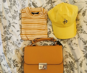 yellow, tumblr, and clothes image