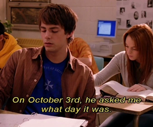 mean girls, movie, and lindsay lohan image