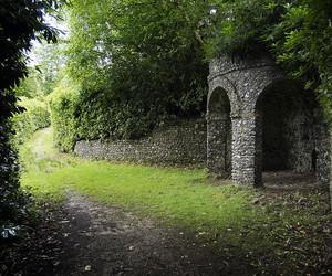 amphitheatre, antique, and english garden image