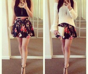 outfit, skirt, and dress image