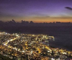 city, lebanon, and lights image