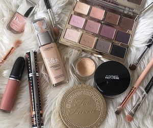 luxury, makeup, and make up image