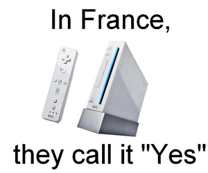 wii, france, and yes image