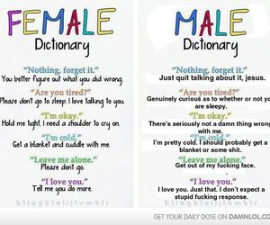 alone, dictionary, and I Love You image