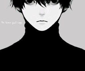 boy, anime, and tokyo ghoul image